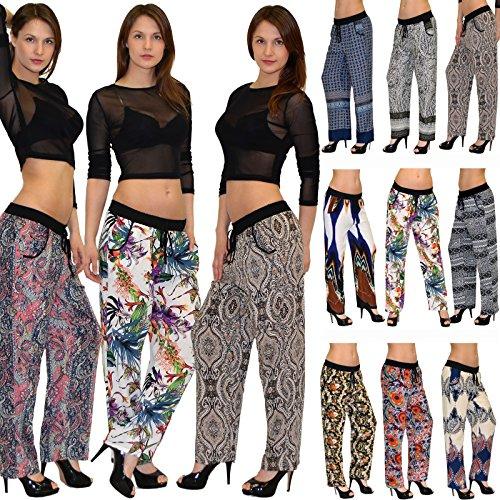Pantalon de Femmes Sarouel Femmes d't Yoga Harem Pantalons 17 S09 Pantalons Pantalon Typ Femmes Pantalons Hippie Pump Pantalons E8w7Afxq