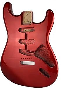 Stratocaster Candy Apple Red Body - Alder - HBD-11CAR
