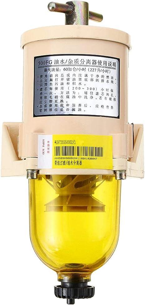 227l H Racor Typ Fg500 Dieselfilter Wasserabscheider Kraftstoff Für Lkw Außenbord Marine Baumarkt