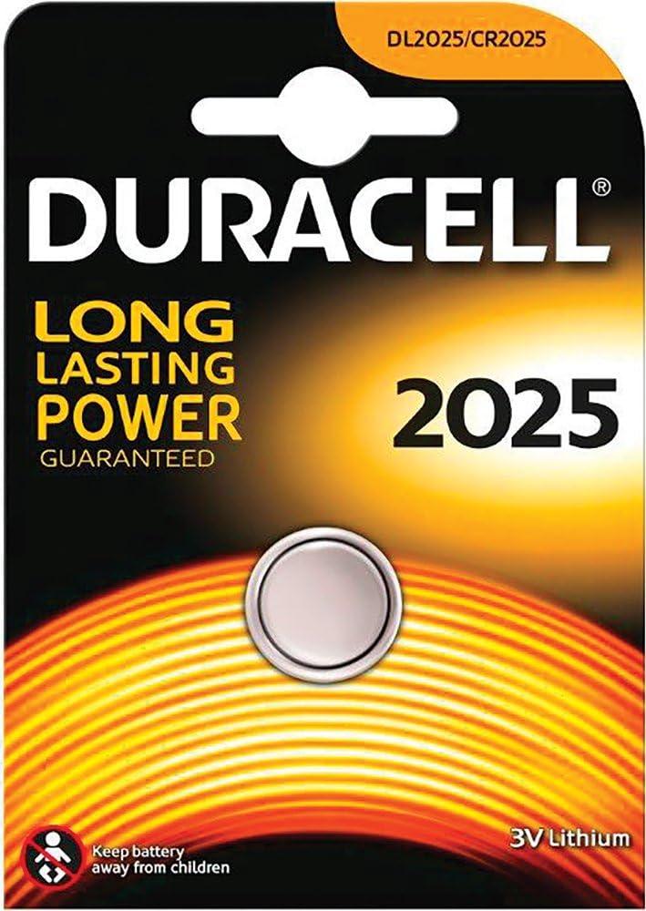 Duracell Cr2025 Dl2025 Lithium Knopfzelle Electronics 1er Blister 3 V Baumarkt