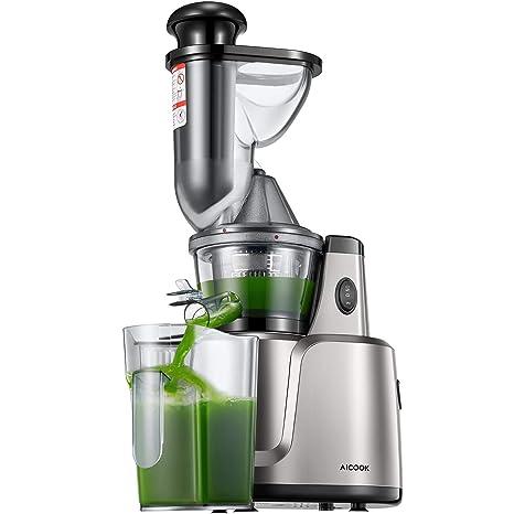 Licuadora, aicook 3 en 1 Slow Juicer para frutas, verduras, Baby Alimentos &