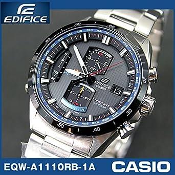22e4cc55f4 CASIO カシオ腕時計 G-SHOCK エディフィス ソーラー電波時計 F1レッドブル・レーシングコラボ EQW