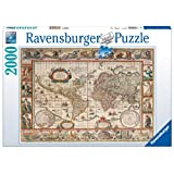 Ravensburger Map of The World in 1650 Puzzle (2000 Pieces)