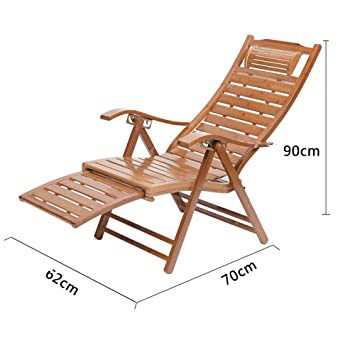 Berçante Déjeuner Bambou Inclinable Pliage Ktyxgkl Chaise Balcon 6f7yYbg