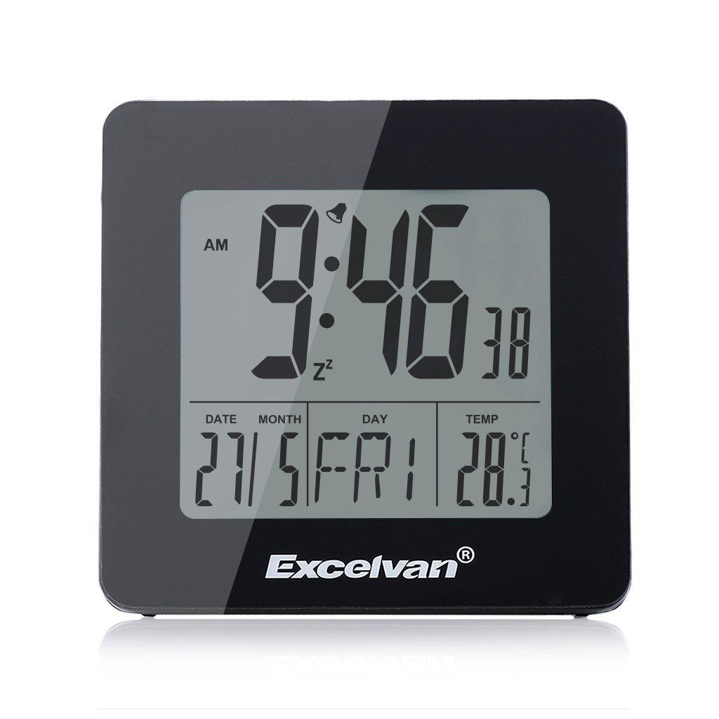 Excelvan Reloj Digital LCD 4.3