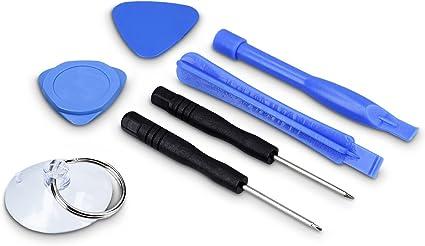 kwmobile Set de 7 Herramientas para Reparar Smartphone - Kit de ...