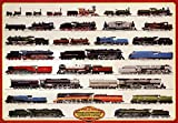 Train Steam Locomotives Poster Print, 39x27