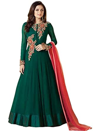 d8185bb271 Amazon.com: Readymade Bollywood Partywear indian/pakistani salwar Anarkali  Suit SR-99007: Clothing