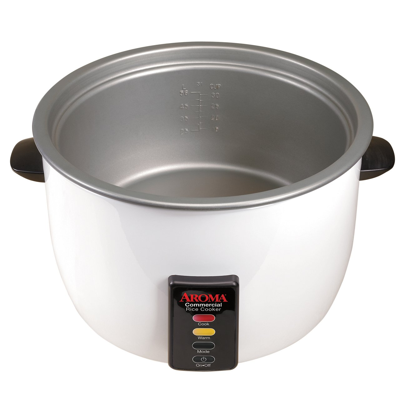 Aroma 48-Cup (Cooked) (24-Cup UNCOOKED) Commercial Rice Cooker (ARC-1024E) by Aroma Housewares (Image #3)