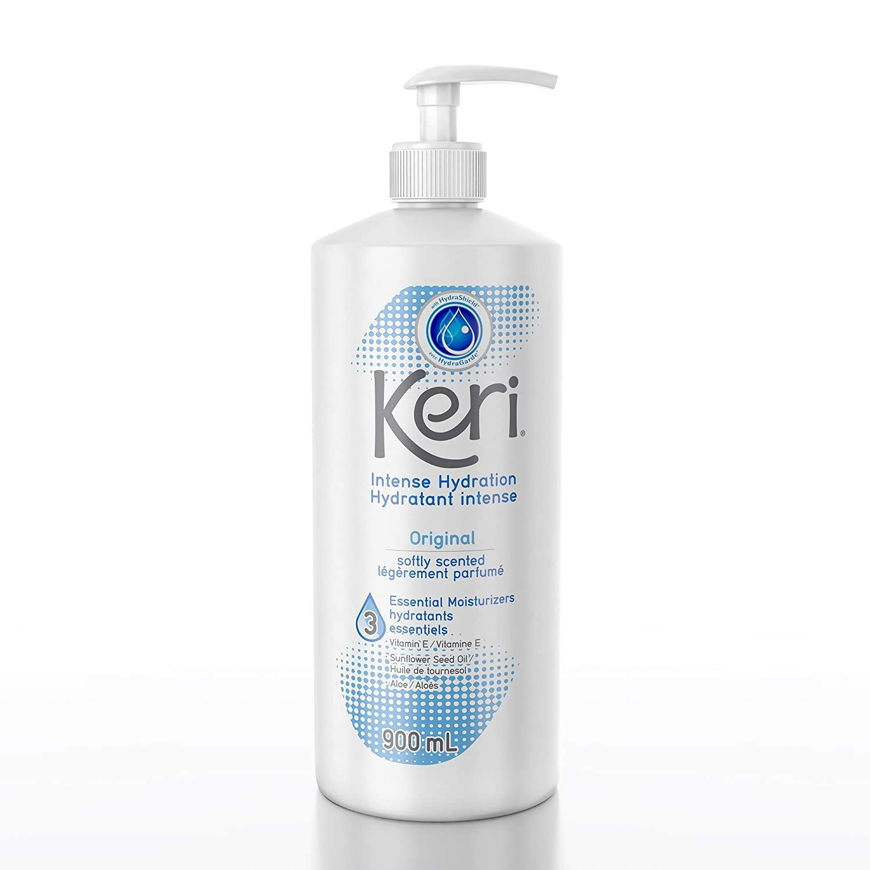 Keri Original Intense Hydration Lotion, Softly Scented, Pump, 900 Ml / 30.4 Oz