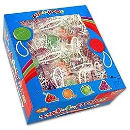 Saf-T-Pops 100 ct box - assorted flavors