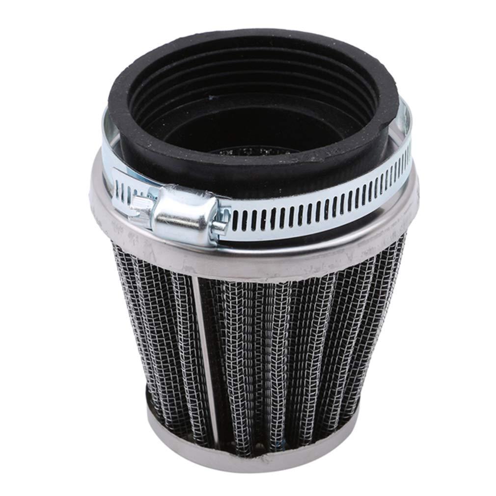 Filtro de admisi/ón de Aire Universal para Motocicletas SUNSKYOO 44 mm como en la Imagen