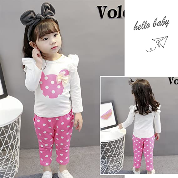 85ecf15ad9e93f Amazon.com  Eden Babe New Kids Clothes Girl Baby Rabbit Sleeve Cotton  Clothing(0-24Months)  Clothing