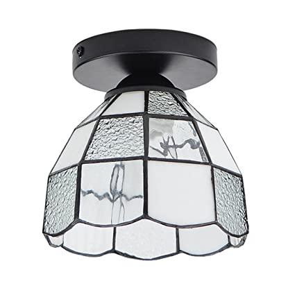 Lysed semi flush mount ceiling light tiffany vintage combination lysed semi flush mount ceiling lighttiffany vintage combination for hallway study room aloadofball Image collections