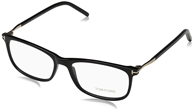 e9ad542c12 Image Unavailable. Image not available for. Color  Tom Ford 5398 001 53mm  Eyeglasses