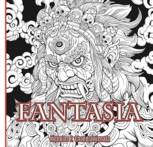 Pdf Crafts Fantasia Anti-Stress Adult Coloring Book - 3rd US Edition - Single Sided