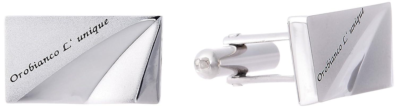 (オロビアンコルニーク) Orobianco L'unique (オロンビアンコ ルニーク) 【国内正規品】OLC107A B00R627VIO  シルバー [サイズレンジ]: 縦5×横58×高さ18 mm
