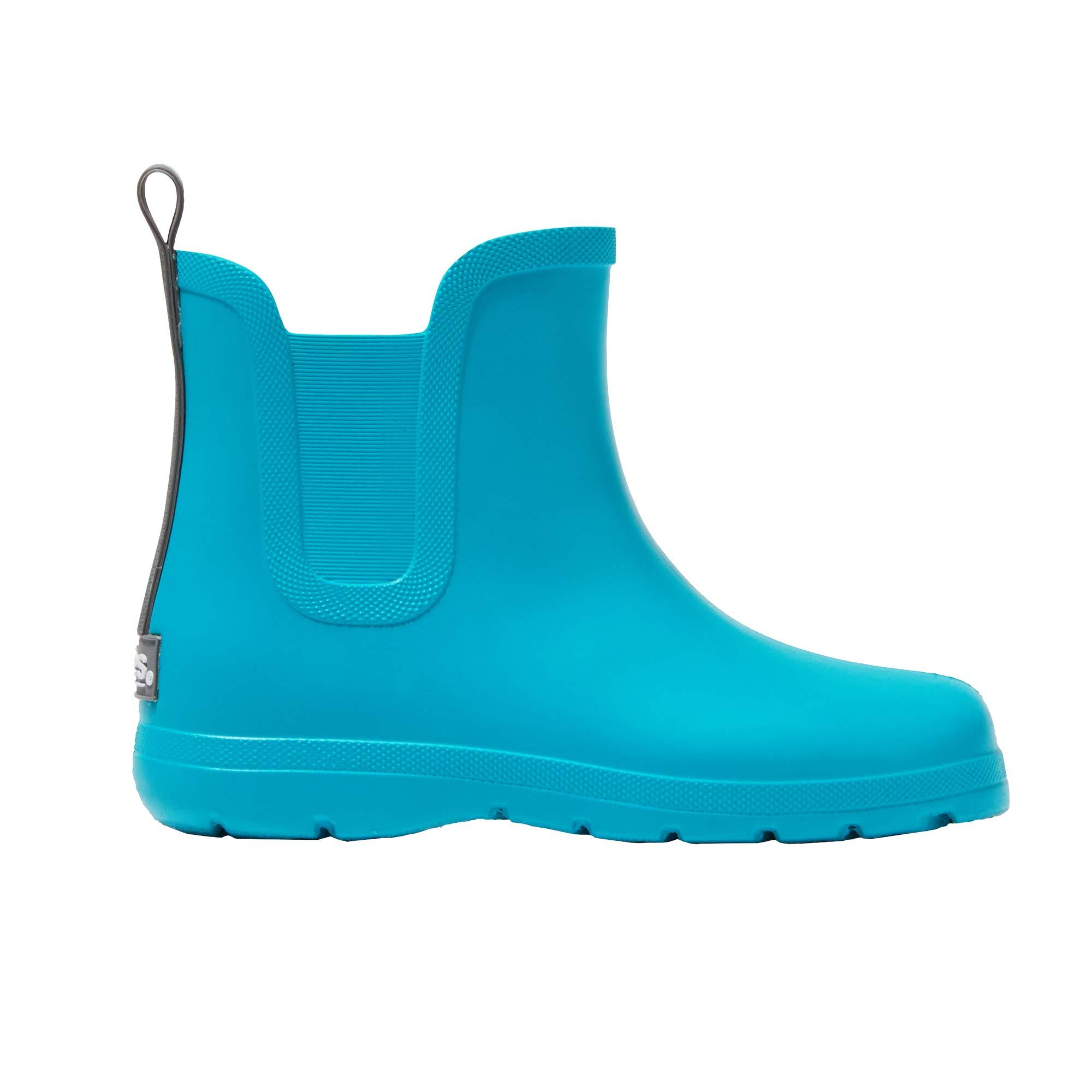totes Kid's Cirrus Chelsea Ankle Rain Boot