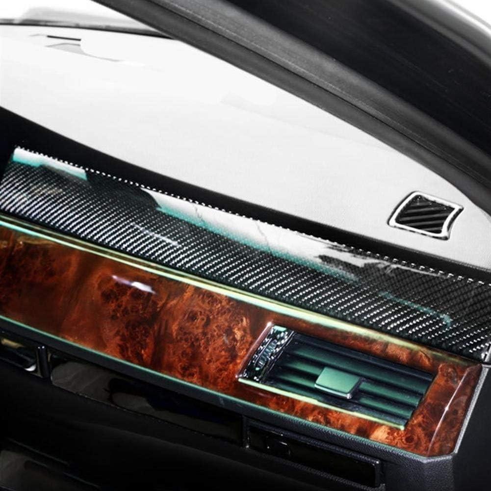 SHENYF Carbon-Faser-Innenraum Auto-Armaturenbrett Dekoration-Streifen-Aufkleber for BMW E60 2005 2006 2008 2007 2009 2010 Zubeh/ör