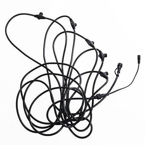 Amazon Com Yescom Smd Led Meteor Light 33 12v Power Cord Splicer