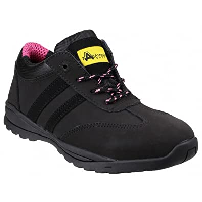 aa09d69aa2f Amblers Safety Womens/Ladies FS706 Sophie Lace Up Safety Shoes