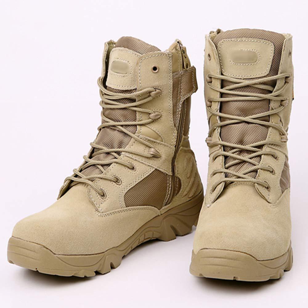 Herrenstiefel Taktische Desert Patrol Schnürstiefel Outdoor Wandern High High High Top Armee Stiefel 1c0267