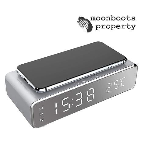 Amazon.com: Moonboots Property - Reloj despertador ...