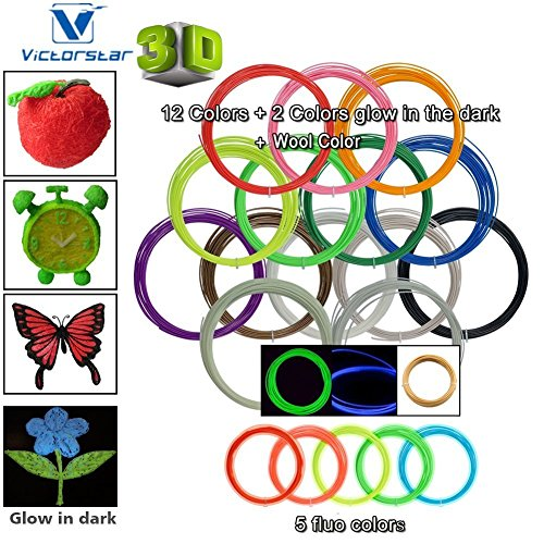 Used, Victorstar @ 3D Pen Filament Refills 20 Colors 656 for sale  Delivered anywhere in Canada