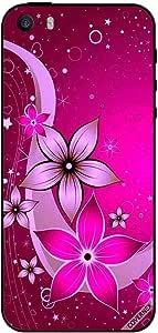 غطاء حماية لهاتف آيفون 5s بنمط زهري كامل