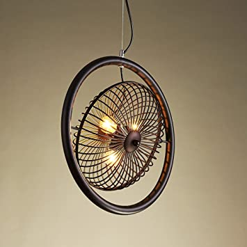 MMM  Industrieller Art Eisen Leuchter, Eisen Lampen Körper Eisen