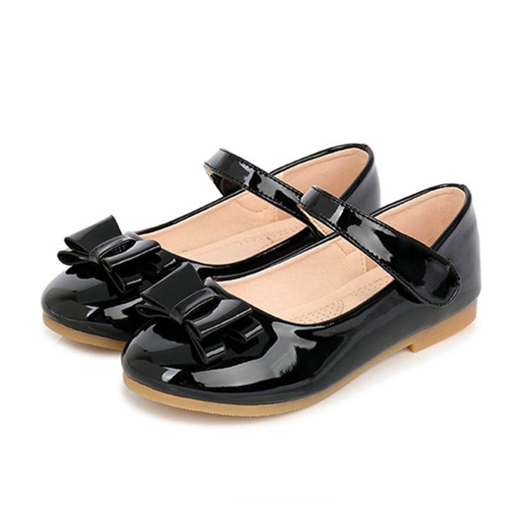 CYBLING Kids Girls Ballet Flats Bowknot Princess Flower Girl Dress Shoes Toddler//Little Kid//Big Kid