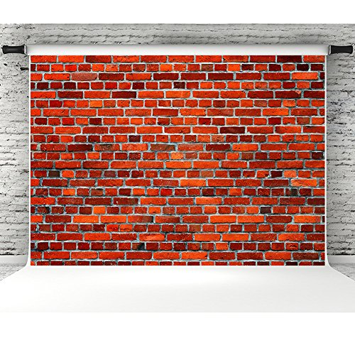Red Brick Wall Texture Background for Photographers Vinyl 7x5ft Photo Backdrops Studio Props Events Banner]()