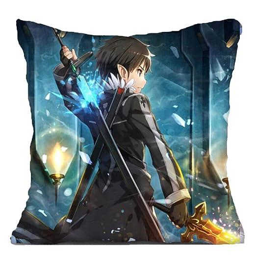 Etruke Anime Sword Art Online Kirito Asuna - Cojín de ...
