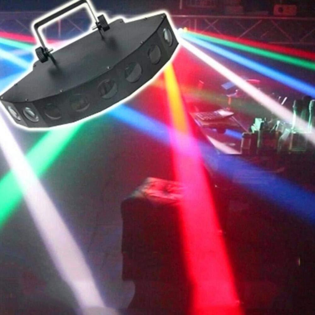 Luci Della Fase 40W 8 LED RGBW 4 In 1 LED Settore Fascio Luminoso Con Linea Di Segnale Per DJ Discoteca Ktv Club Party LYJNP