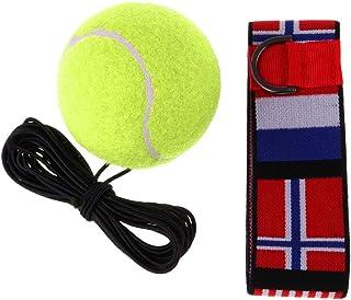 Baoblaze Entraînement de Boxe Balle de Tennis et Serre-tête