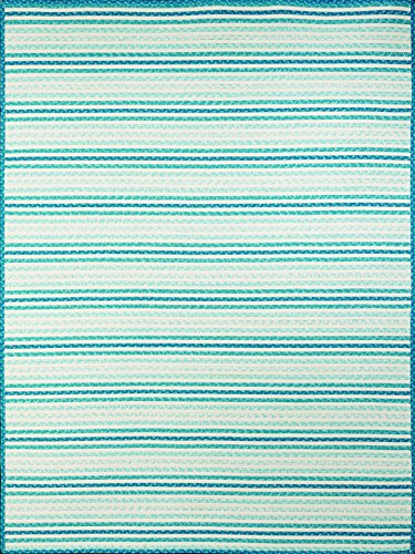 Blue Bay Rug Outdoor (AMER Morro Bay 3 Indoor/Outdoor Area Rug, 8x10, Sea Blue)