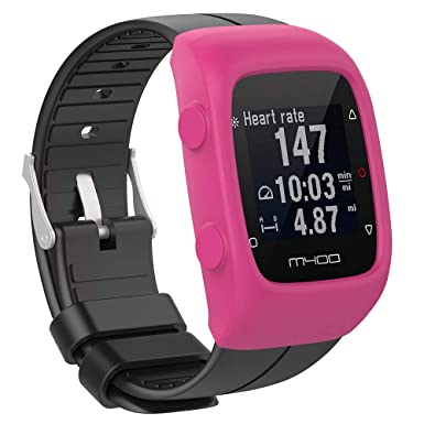 Amazon.com: Smart Watch - Carcasa de silicona para Polar ...