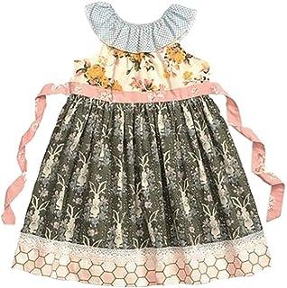 0bb32e16c99 Amazon.com: Matilda Jane Girls Joanna Gaines Sweet Clementine Dress ...