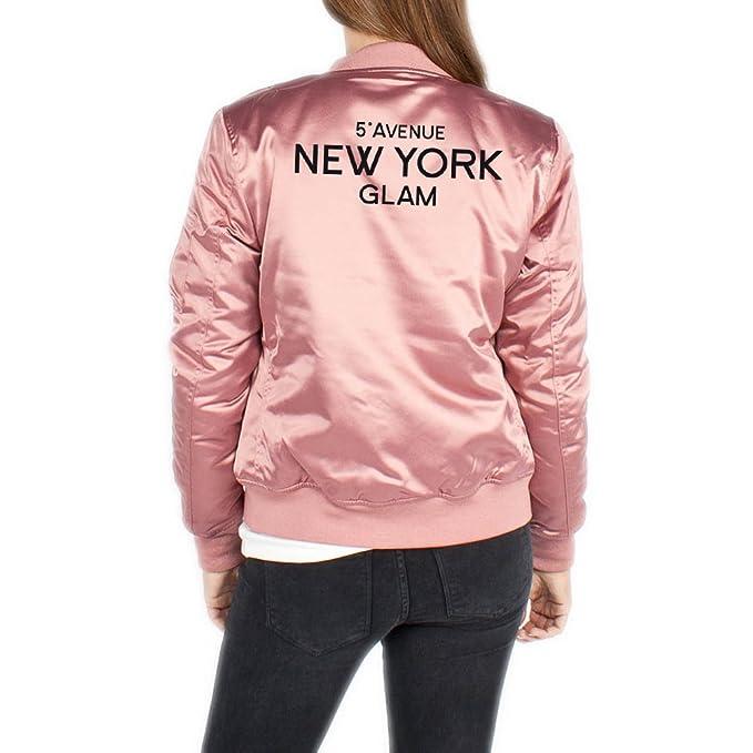 5th Avenue New York Glam Bomber Chaqueta Girls Rosa ...