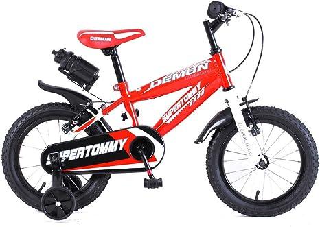 mediawave Store Bicicleta Demon Baby Talla 16 Bicicleta para niños ...