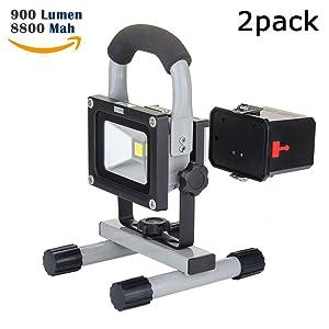 LOFTEK LED Portable Floodlight Outdoor Floodlight Waterproof