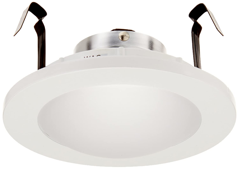 Wac lighting hr hl 4 low voltage new construction housing recessed can light - Wac Lighting Hr D418 Wt Recessed Low Voltage Trim Drop Dish Shower Recessed Light Fixture Trims Amazon Com