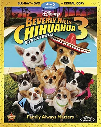 Beverly Hills Chihuahua 3 Two Disc Combo Blu Ray Dvd