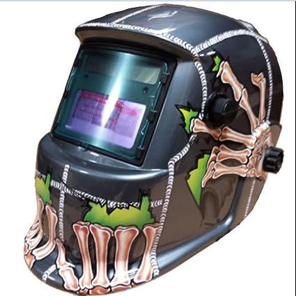 Careta de soldar solar Oscurecimiento Automático Arc Tig Mig máscara de soldador de soldadura lente máscara
