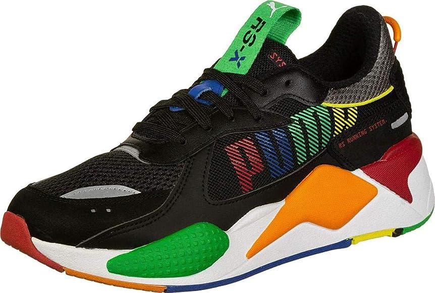 Puma RS-X Bold, Zapatillas Deportivas para Niños, Black-Andean Toucan-Orange Popsicle, 36 EU: Amazon.es: Zapatos y complementos