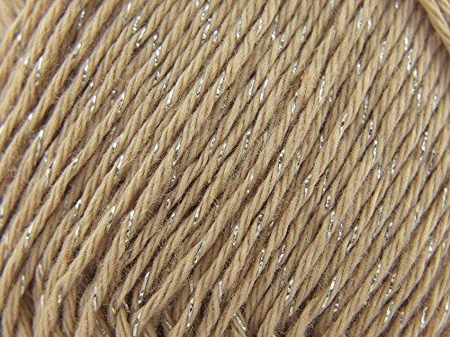 Rico Design Essentials Cotton Lurex - Clay (006)