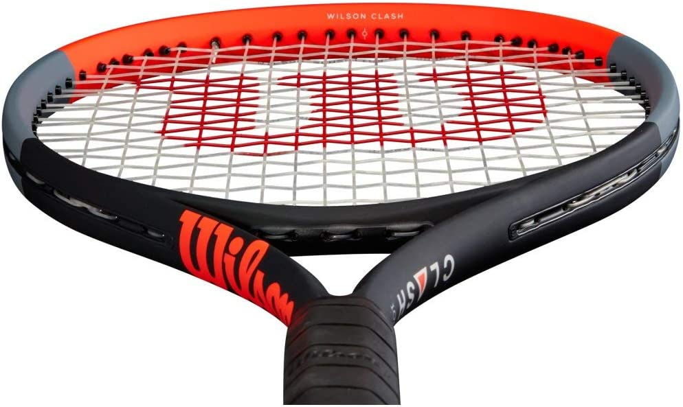 Amazon Com Wilson Clash 108 Tennis Racquet Quality String Choice Of Grip Size 4 1 2 Sports Outdoors