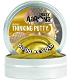 Crazy Aaron's Thinking Putty, 1.6 Ounce, Precious Metals Good As Gold
