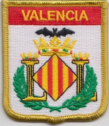 Bandera de Valencia España Parche Bordado insignia: Amazon.es: Hogar