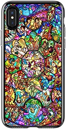 Disney Stained Glass Characters iphone case